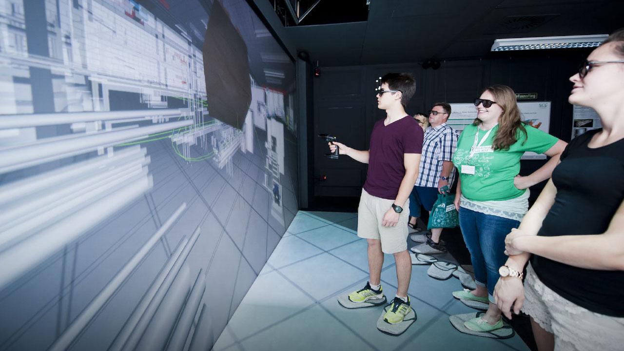 Gemeinsam denken wir Forschung neu – physisch wie digital.