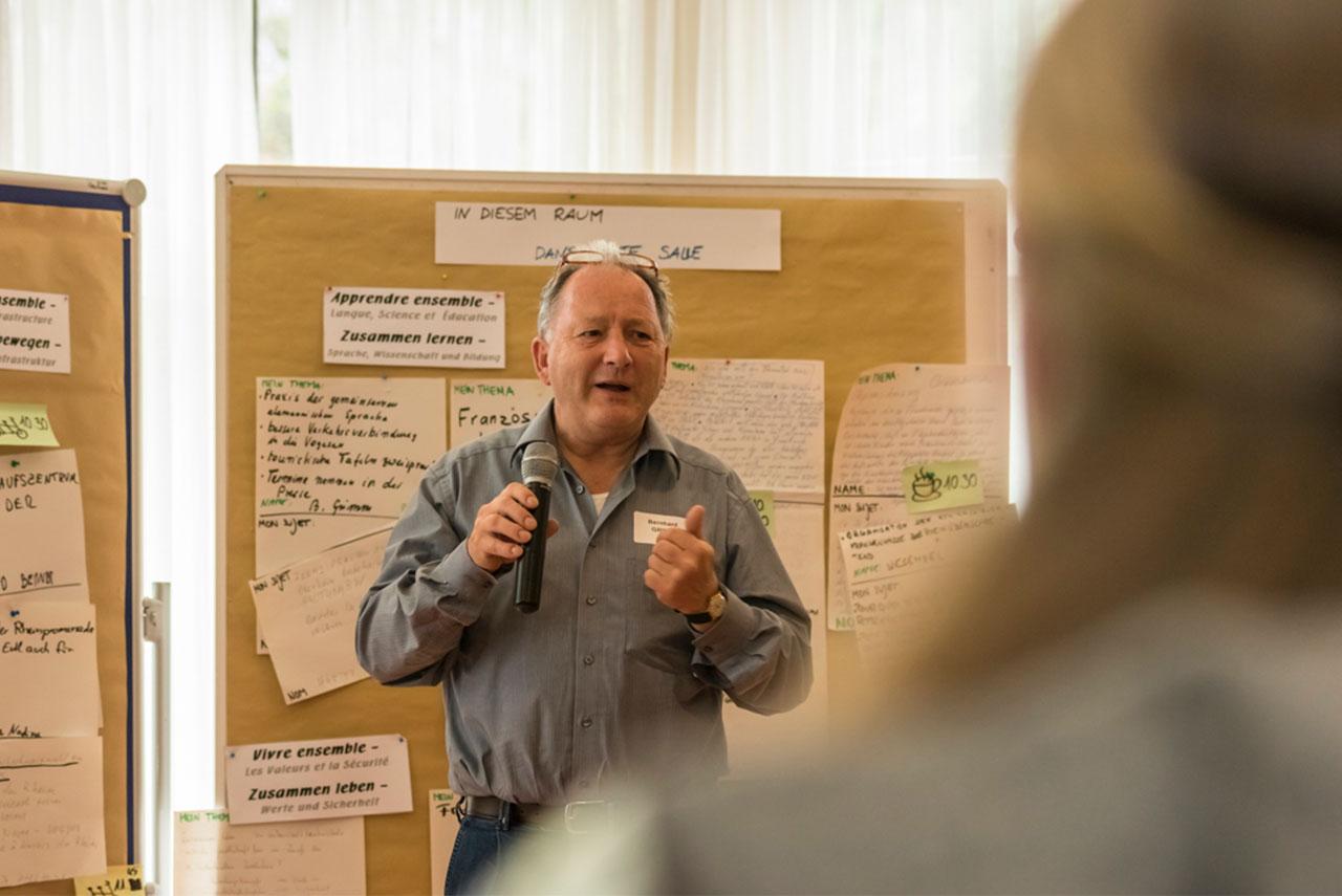 Consultation citoyenne à Vieux-Brisach pour la soumission de nouvelles idées.